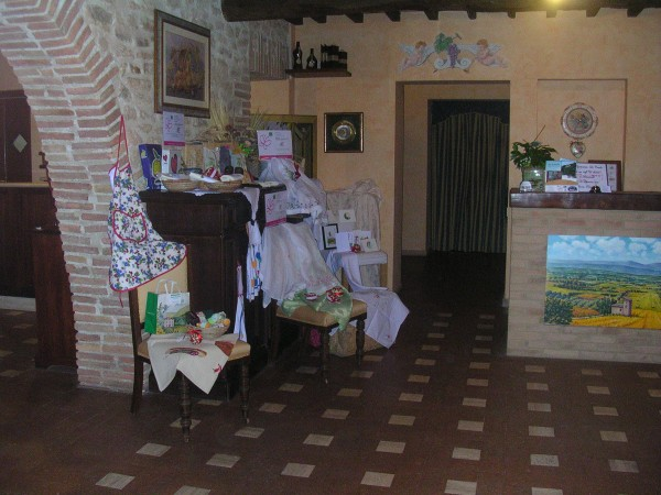 La Casella - reception